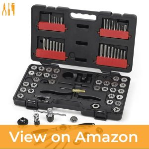 GearWrench 3887 Tap and Die 75 Piece Set — Best Quality Parts