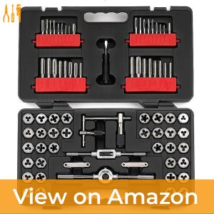 Craftsman 75-Piece Tap & Die Set — Best Metric and SAE Sized Set