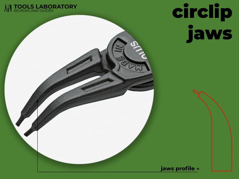 circlip jaws