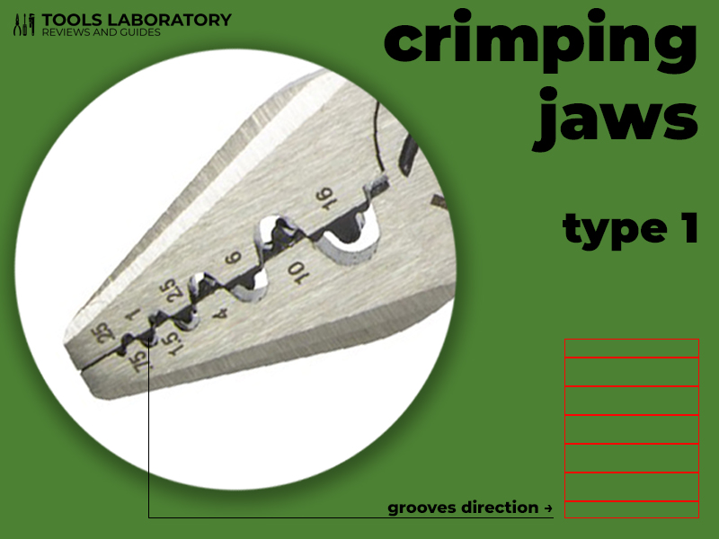 crimping jaws type 1