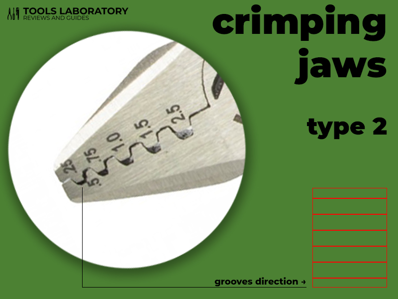 crimping jaws type 2