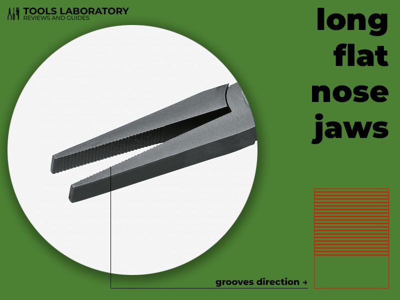 long flat nose jaws