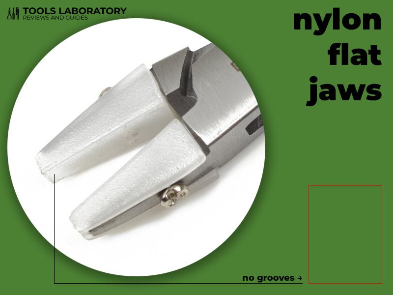 nylon flat jaws