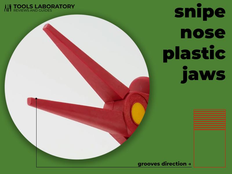 Snipe Nose Plastic Jaws
