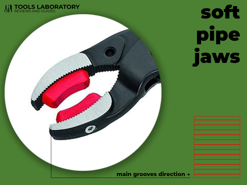 soft pipe jaws