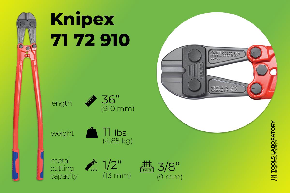 Knipex 71 72 910 36 inch Bolt Cutter