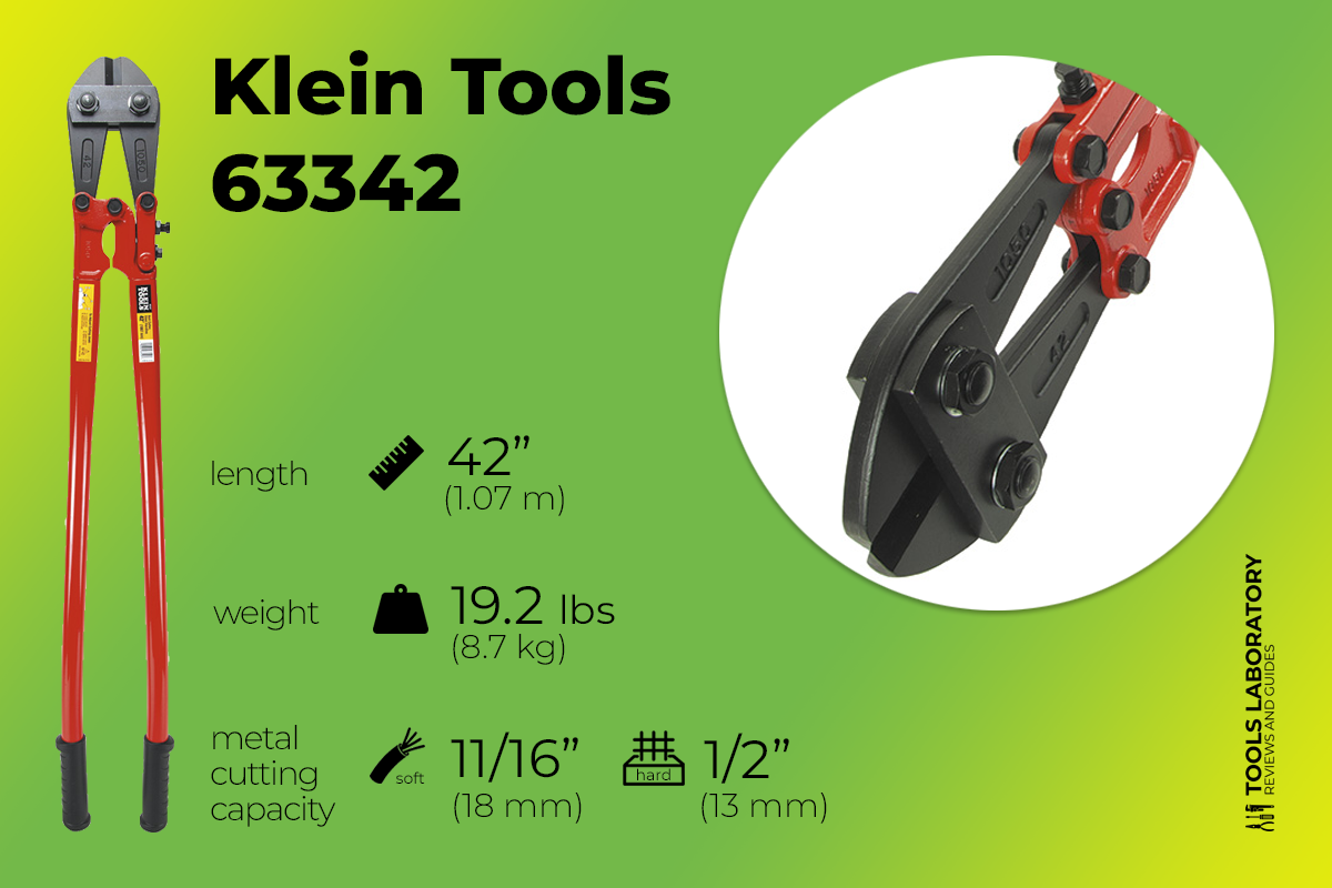 Klein Tools 63342 42 inch Bolt Cutter