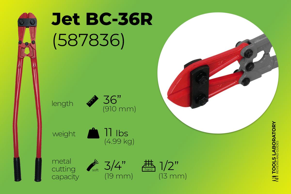 Jet BC-36R (587836) bolt cutter