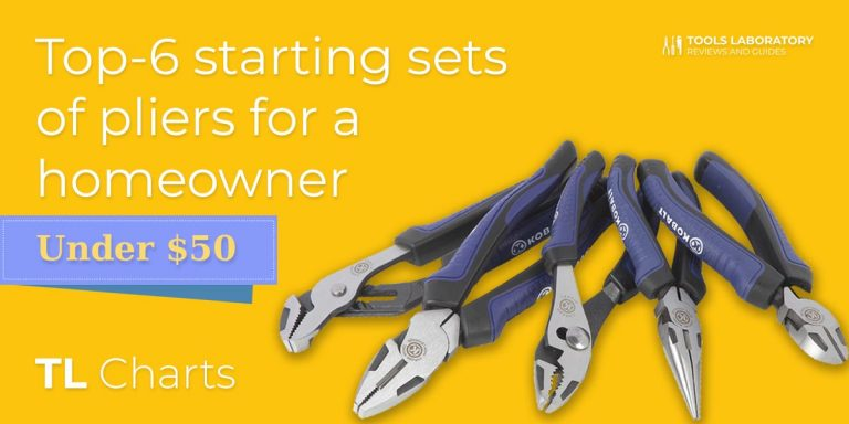 Top-6 Starting Pliers Sets For a Homeowner (2019)