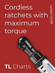 Cordless ratchets with maximum torque