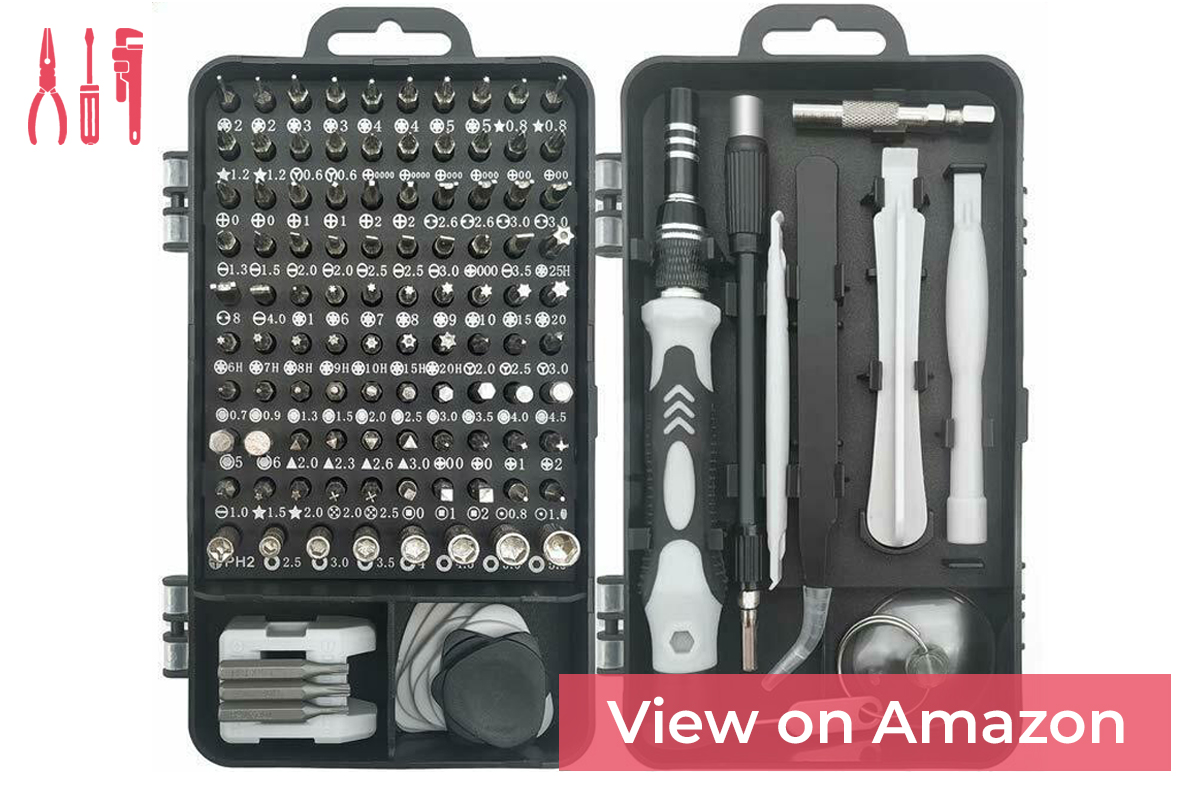Royace 119 in 1 Screwdriver Kit — [feature]