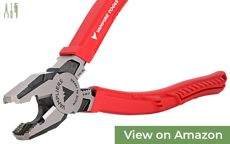 VAMPLIERS 8-Inch Pro — Best Lineman's Pliers For Rusted Fasteners