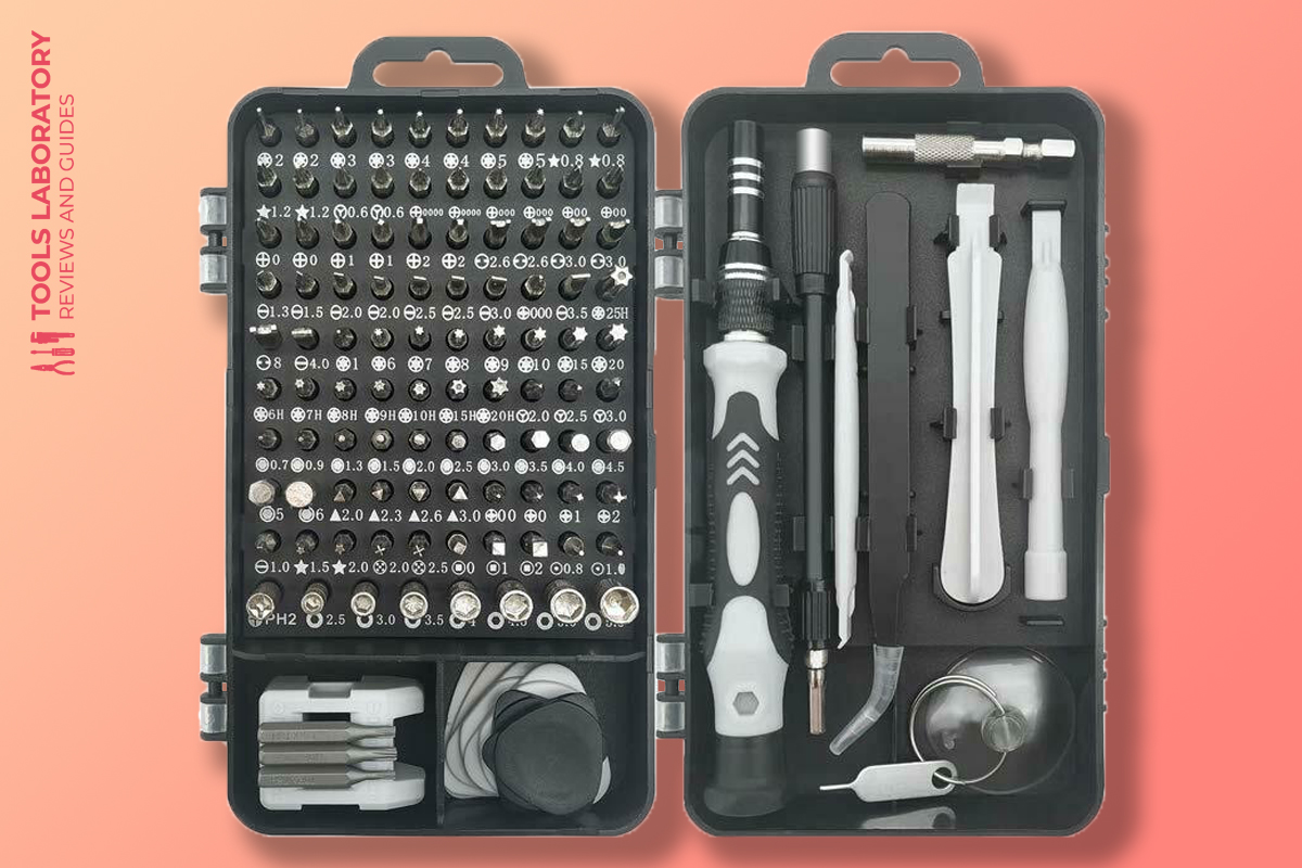 Royace 119 in 1 Screwdriver Kit