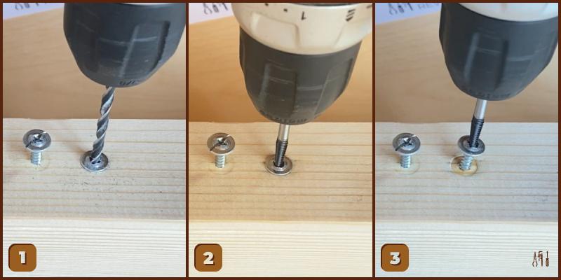 Remove Flat Head Screw — Special Drill Bit