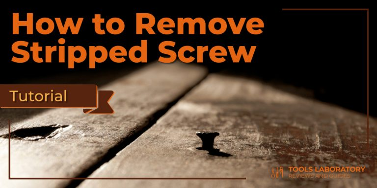How To Remove Stripped Screw [Tutorial]