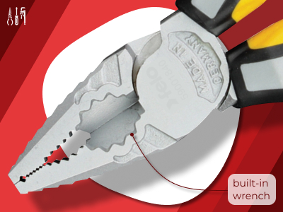 Combination Pliers with build-in socket