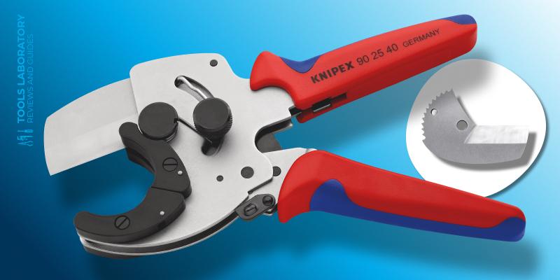 KNIPEX 90 25 40 – Best RatchetingPVC Pipe Cutter