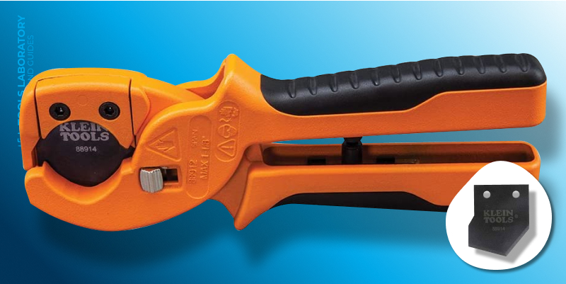 Klein Tools 88912 PVC and Multilayer Tubing Cutter — Best for Drain and Vent Lines