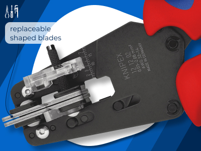 205_Insulation Stripper With adapted blades